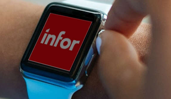 Infor BI Apple Watch