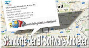 BI-Software-Anbieter in Deutschland, Österreich und der Schweiz